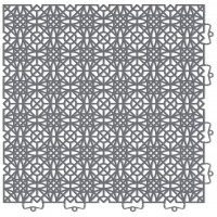 Click TILE Bodenfliese dunkelgrau (7-er Set)
