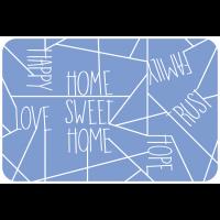 Sweet home blau