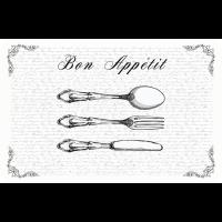 Bon Appetit transparent