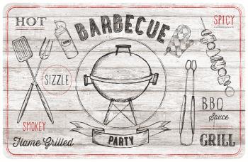 Barbecue offwhite