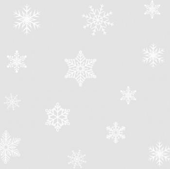 Static window stripes Snowflakes