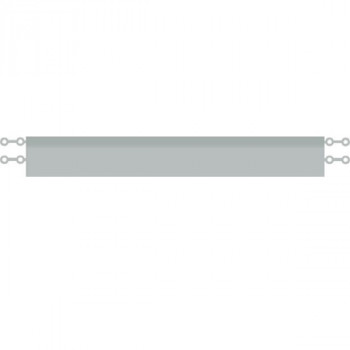 Click EDGE Kantenleiste hellgrau (2-er Set)